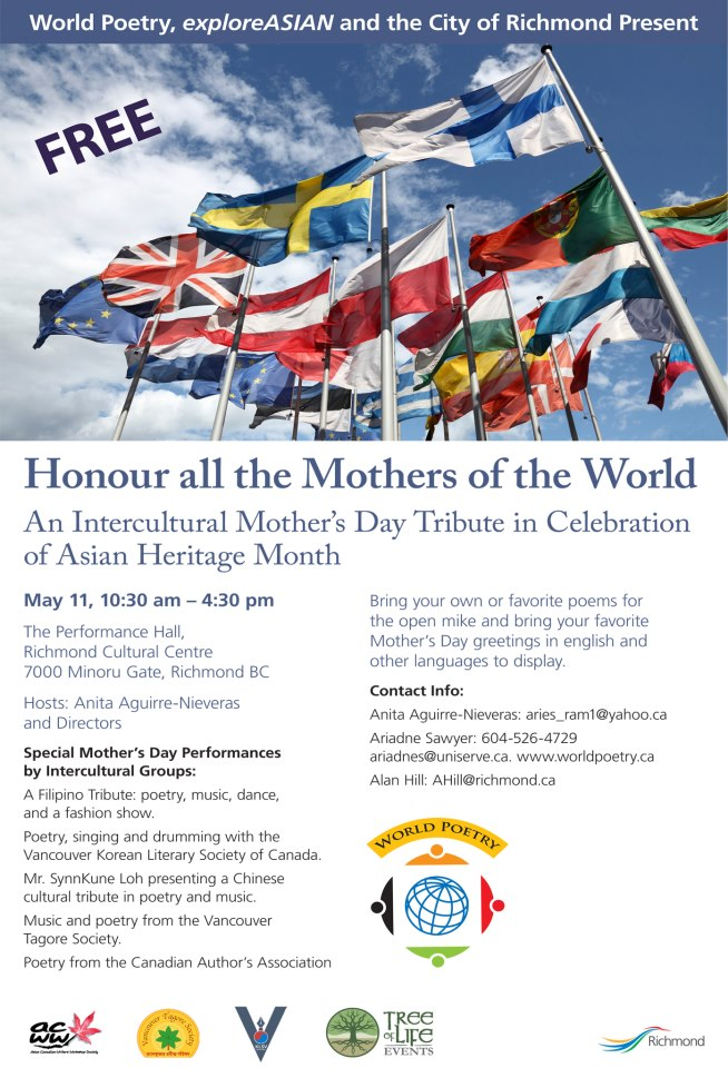 World Poetry Mother's Day event