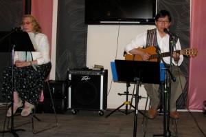 Ariadne and Synn Kune Perform